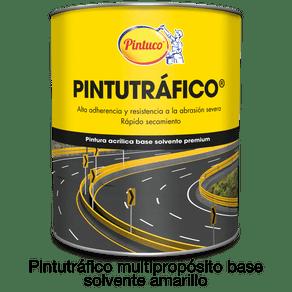 Pintura Pintutráfico multipropósito acrílico base solvente Galon